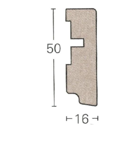 Parador Parkett Sockelleiste SL6 (ab 3,15 €/lfm)