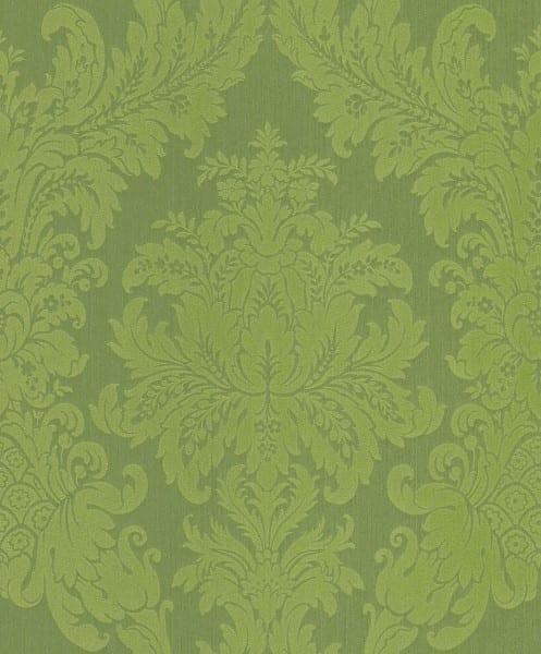 Floral grün - Rasch Vlies-Tapete