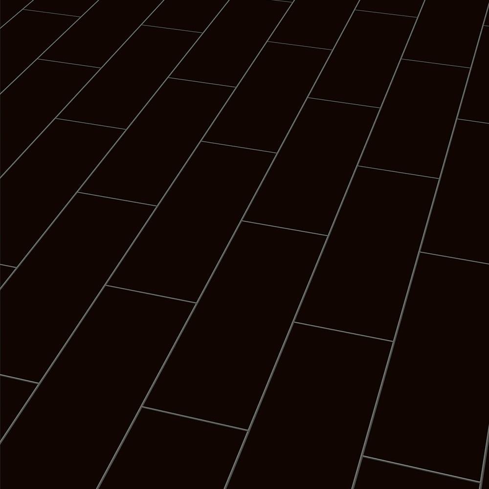 schwarz hochglanz stil laminat raumtrend hinze. Black Bedroom Furniture Sets. Home Design Ideas