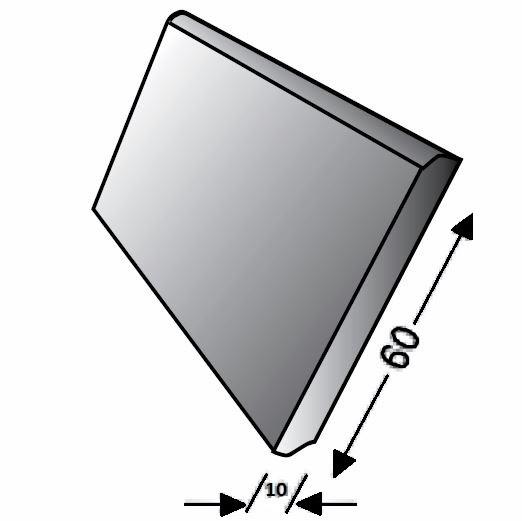 Tarkett Sockelleiste PVC 60x10x2020