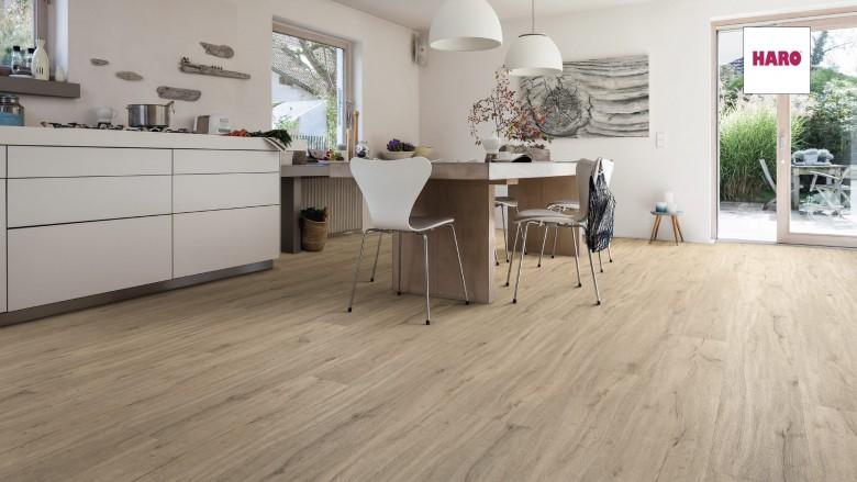 Eiche Columbia Grau Landhausdiele XL - Disano Life Klick-Designboden