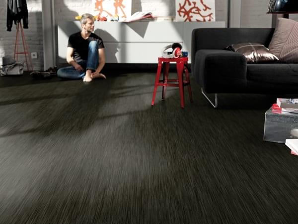 Tarkett Exclusive (Design) 260 Akira Black - PVC - Boden