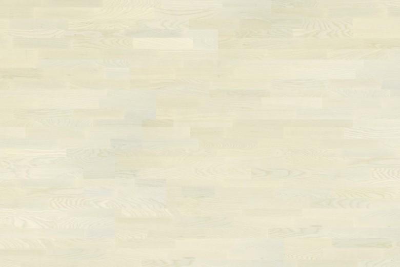 Esche White Pearl 3-Stab Tarkett Shade - Parkett Schiffsboden gebürstet lackiert