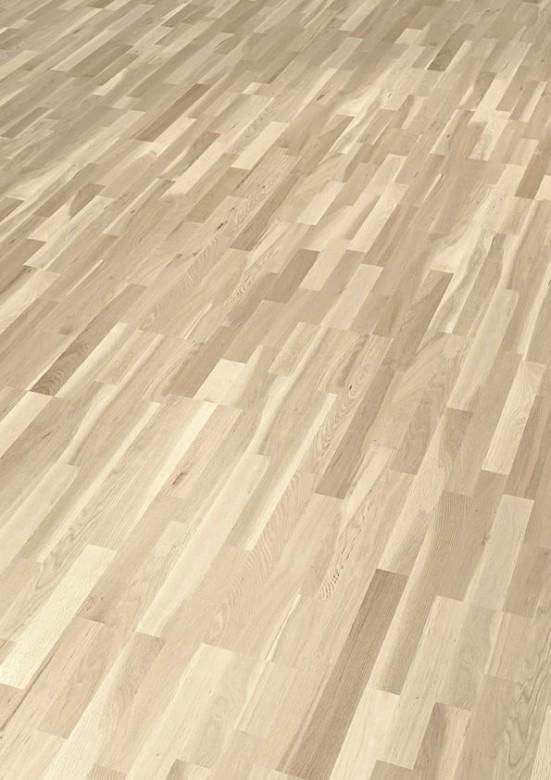 Eiche country weiß matt SB Thede & Witte Boston - Parkett Schiffsboden lackiert