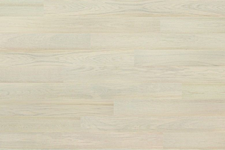 Eiche Cotton White LHD Tarkett Shade - Parkett Landhausdiele matt lackiert