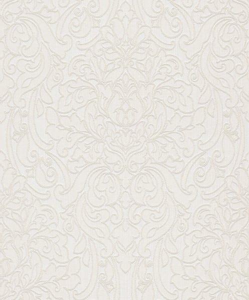 Victoria weiß - Rasch Vlies-Tapete Barock