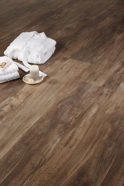 Korkboden dunkelbraun  Holzoptik | Stil | Kork-Boden | Raumtrend Hinze