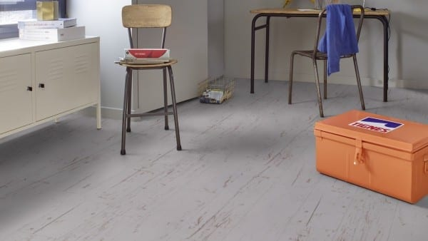 Texline HQR Hometown Light Grey - Gerflor PVC Boden