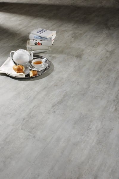 Cement grey Ziro Vinylan Hydro plus - Vinylboden Fliesenoptik