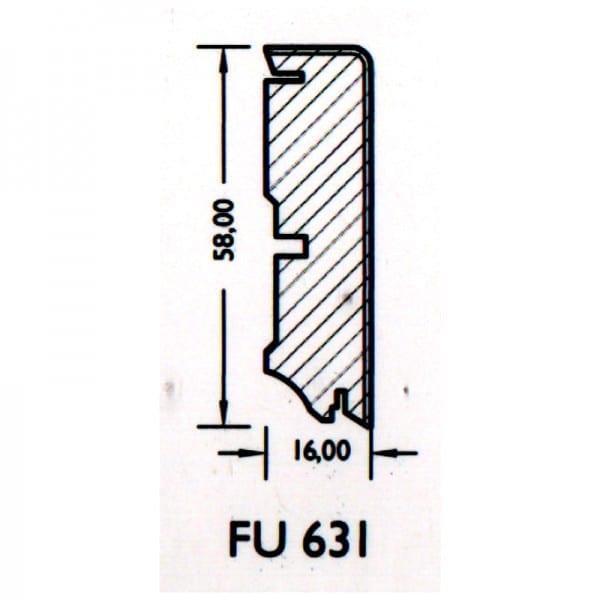 Parkett-Sockel Joka S631 (ab 6,25€/lfm)