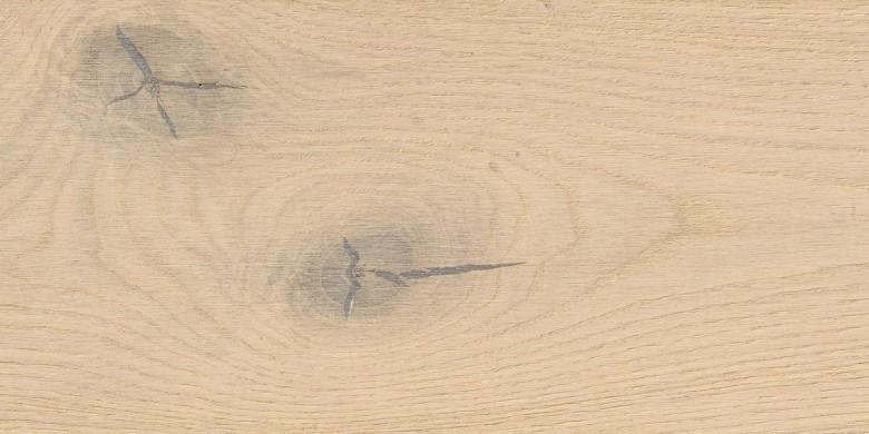 Eiche sandweiß Sauvage strukturiert 2V - Haro Parkett Landhausdiele Serie 4000