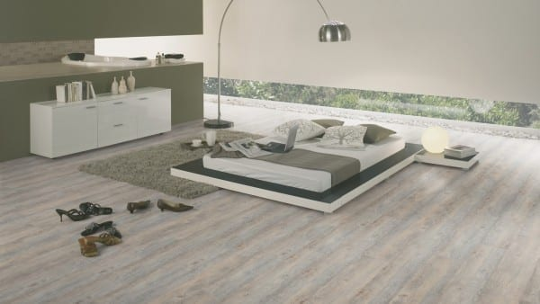 Arizona Oak Light Grey - Wineo Ambra Wood Vinyl Laminat Multi-Layer