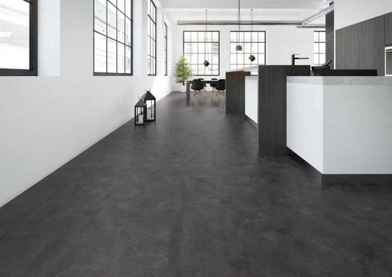 Schiefer Grau (Grey Slate) - Joka Design 330 Vinyl Fliesen