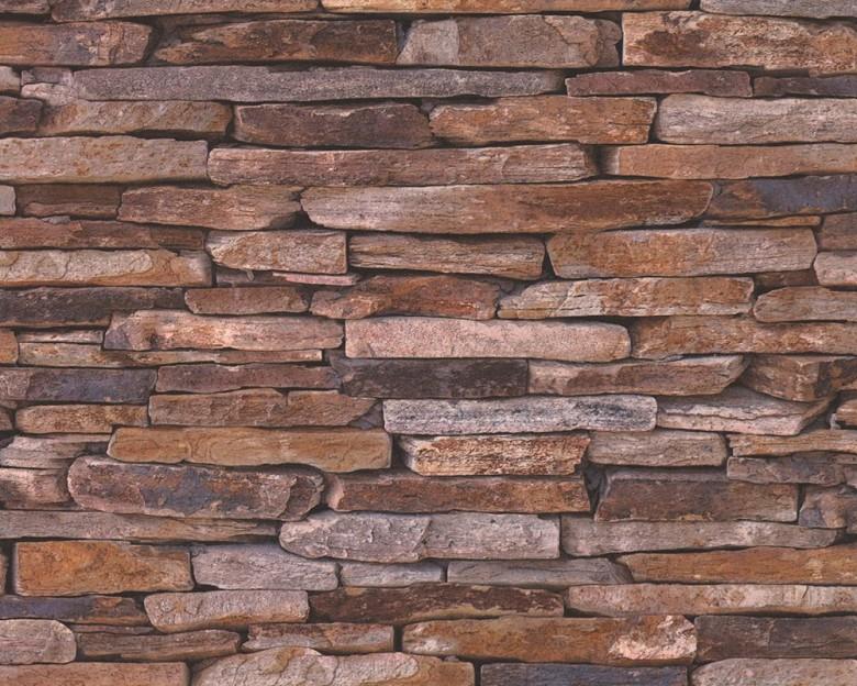Stone Wall Mix Steinoptik- A.S. Creation Vlies -Tapete