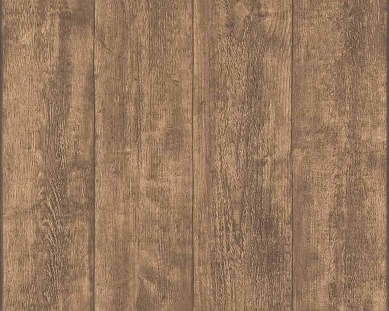 Braun Rustikal Holzoptik- A.S. Creation Vlies -Tapete