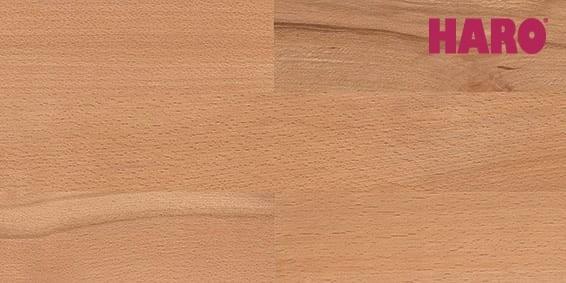 Buche gedämpft Country matt lackiert - Haro Parkett Schiffsboden Serie 4000