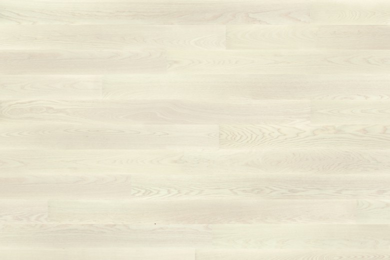 Esche White Pearl LHD Tarkett Shade - Parkett Landhausdiele gebürstet lackiert