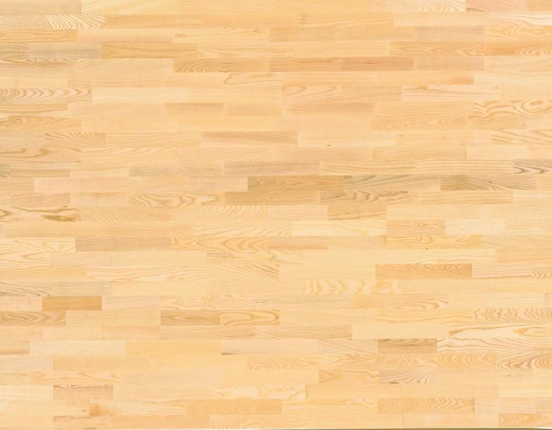 Esche Natur 3-Stab Tarkett Pure - Parkett Schiffsboden matt lackiert