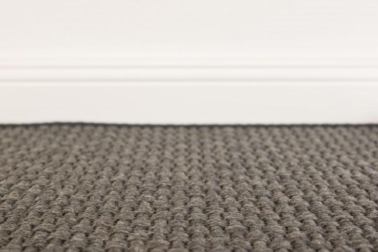 Bentzon Skagen 068091 Dunkelgrau - gewebter Teppichboden