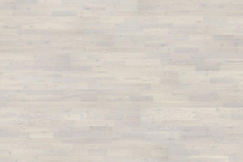 Heritage Eiche Chalk White 3-Stab Tarkett Atelier - Parkett Schiffsboden geölt