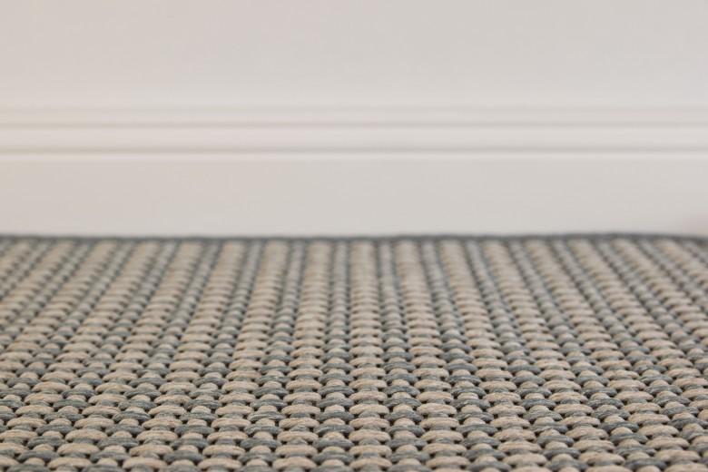Bentzon Elba Duo 213108 Beige-Grau  - gewebter Teppichboden