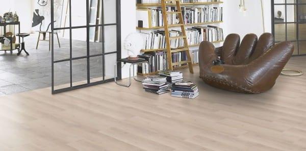 Eiche Skyline weiß Holzstruktur - Parador HDF Vinyl Basic 30