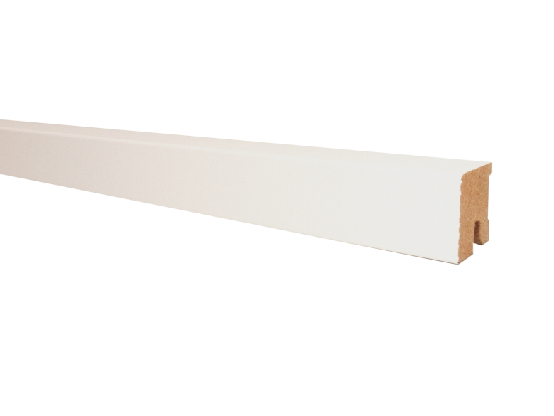 Ziro Fußbodenleiste_Weiß deckend