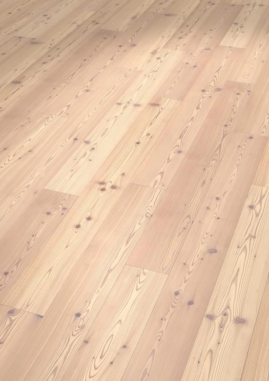 Lärche astig gebürstet 2V Thede & Witte Boston - Parkett Landhausdiele weiß geölt