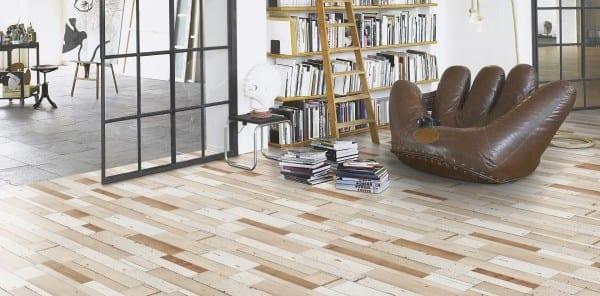 Brushboard white Seidenmatte Struktur 4V - Parador Laminat Trendtime 6