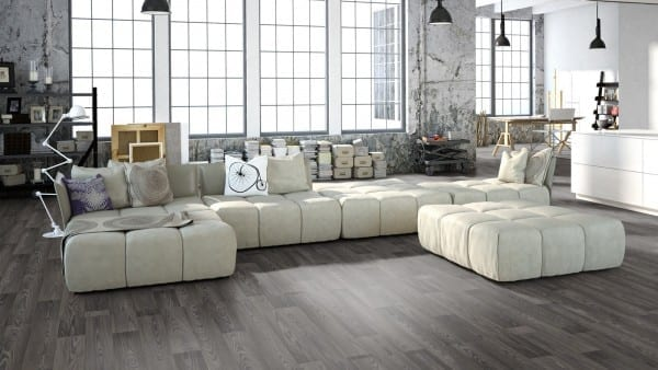Texline HQR Fairway Grey - Gerflor PVC Boden