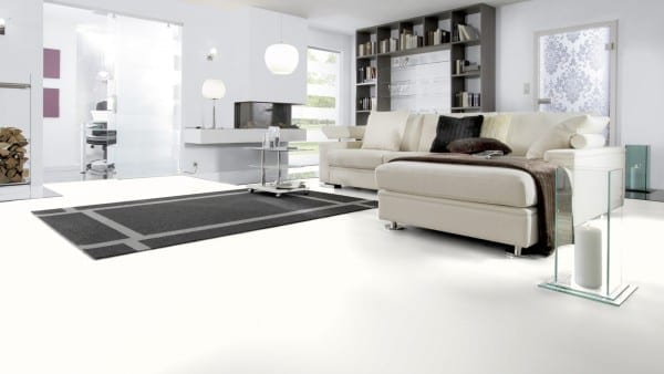 White matt - Wineo 550 Laminat