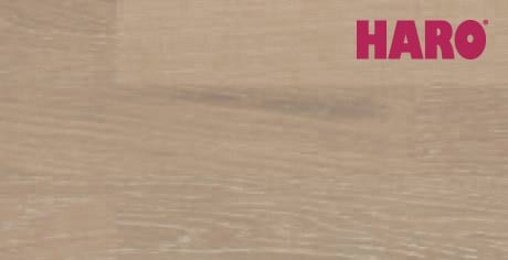 Eiche perlgrau gekalkt Tundra strukturiert - Haro Parkett Schiffsboden Serie 4000