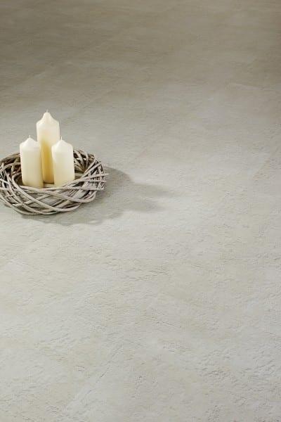 Cement Skagen creme Vinylan KF plus object - Vinylboden Fliesenoptik