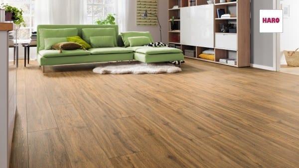Bergeiche Landhausdiele XL - Disano Classic Aqua Designboden zum Klicken