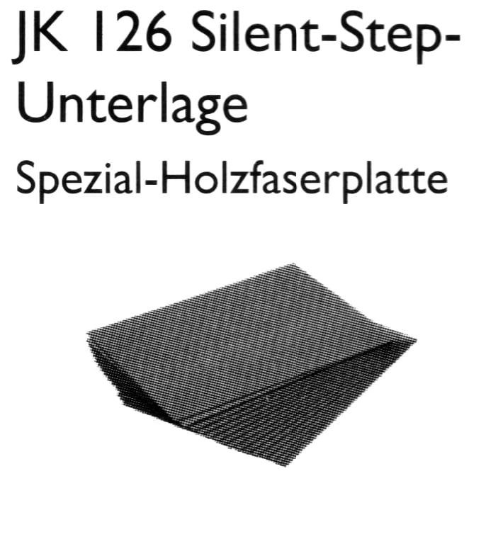 JK 126 Silent-Step-Unterlage - Joka