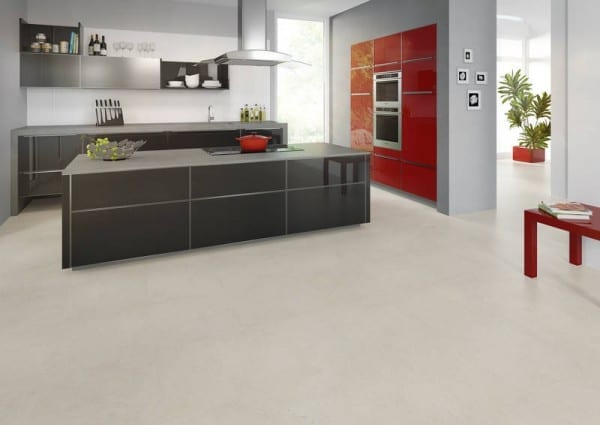 Light Concrete - Joka Design 330 Klick Vinyl Fliesen