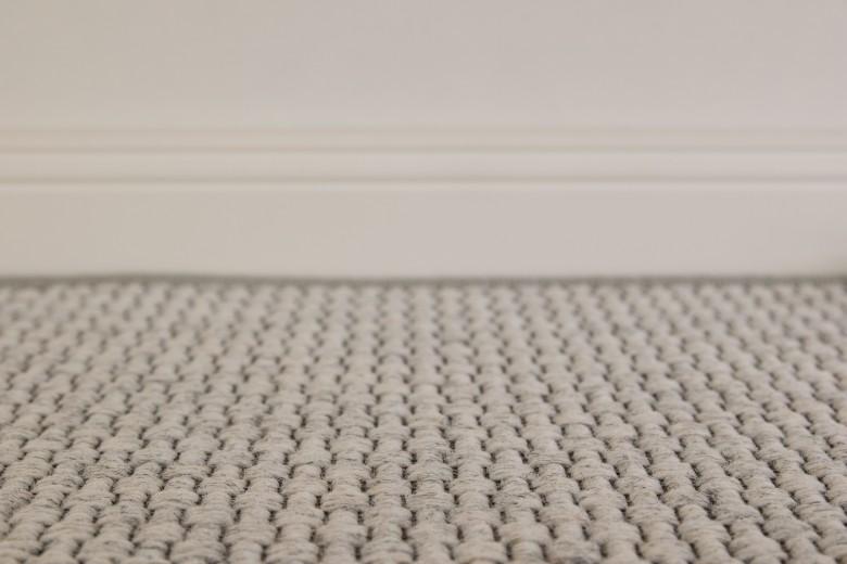 Bentzon Skagen 068011 Grau - gewebter Teppichboden