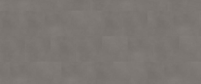 Solid Grey - Wineo 800 Tile Vinyl Fliesen zum Kleben