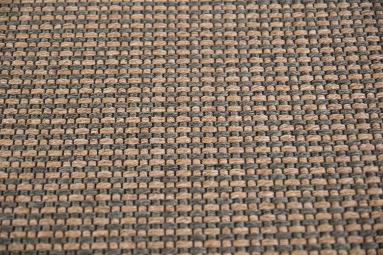 Bentzon Elba Duo 213209 Braun-Grau - gewebter Teppichboden
