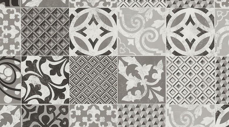 Gerflor Texline Concept Provence Black & White PVC-Boden