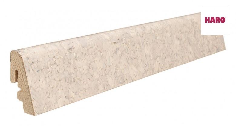 Haro Sockelleisten für Korkboden 19 x 39 mm 5,35€/lfm