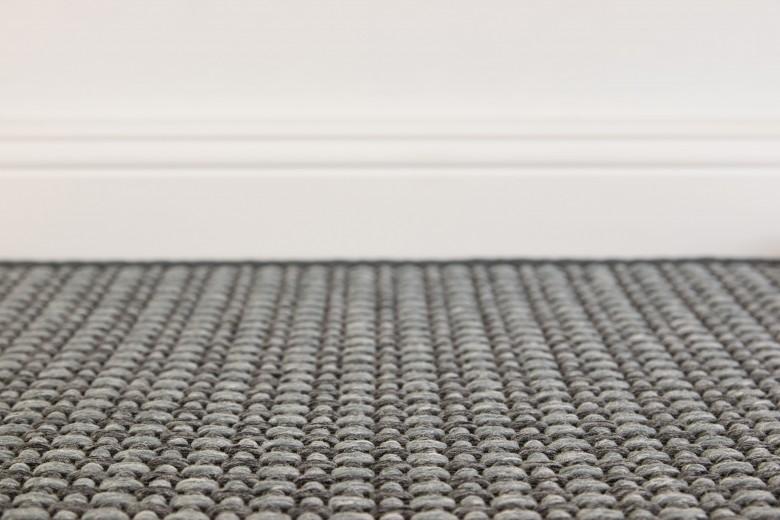 Bentzon Elba Duo 213809 Grau meliert - gewebter Teppichboden