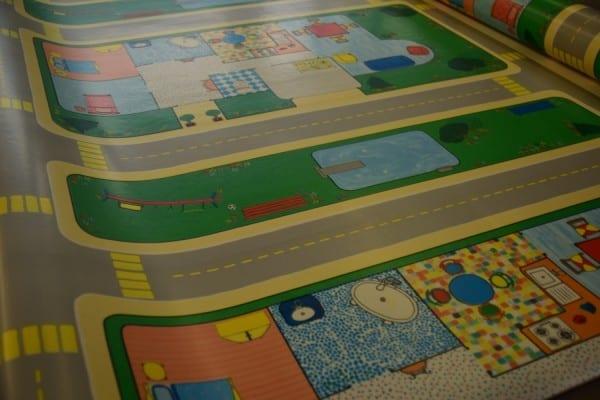Kinder Spiel-PVC-Boden 3,2m x 4m